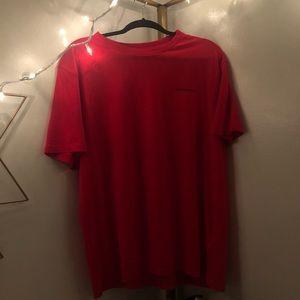 Red Calvin Klein Tee Shirt